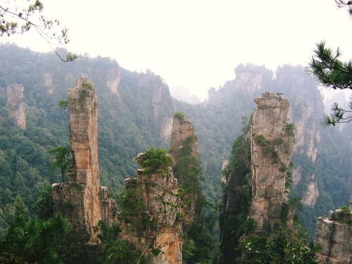 天子山自然風景区