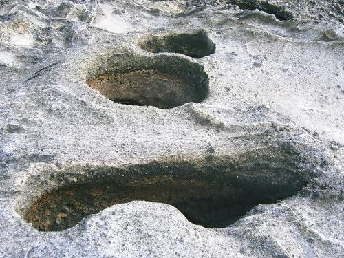 甌穴(宿根木)