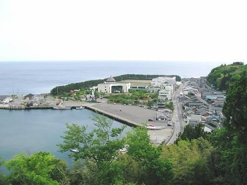 城の山公園展望台(赤泊)