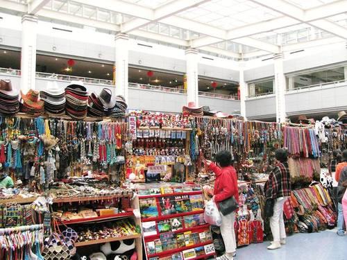 九寨溝・チベット民族「土産店」