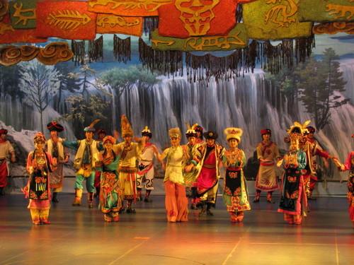 九寨溝・チベット民族ショー