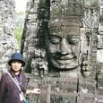 カンボジア・バイヨン寺院