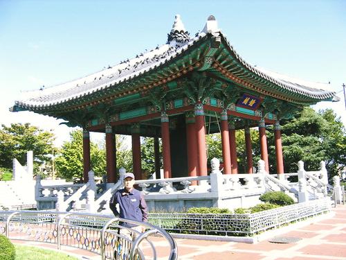 韓国・釜山 「龍頭山公園」