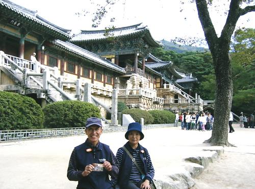 韓国・慶州 「仏国寺」