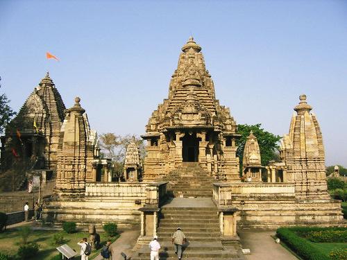 インド・カジュラホの寺院群