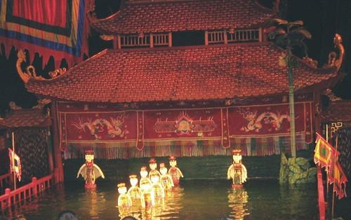 ベトナム・水上人形劇
