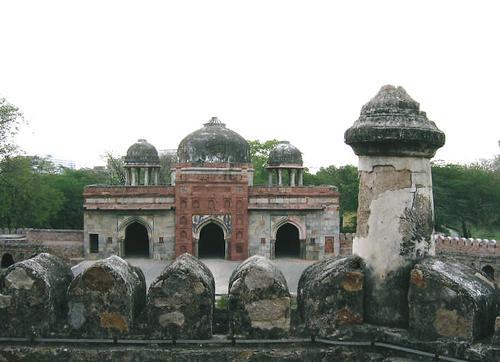 インド・フマユーン廟