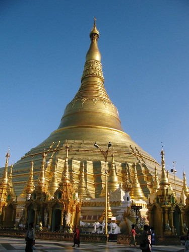 ヤンゴン:シュエダゴォン・パゴダ
