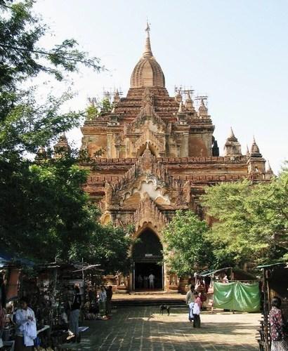 バガン:ティーローミンロー寺院