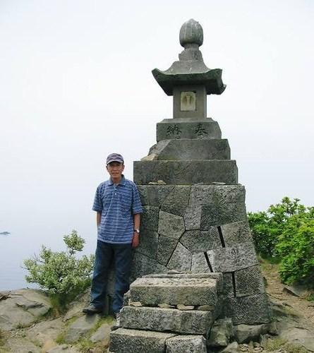 大野亀山頂(願)