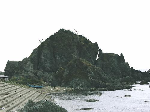 猫岩(大浦)
